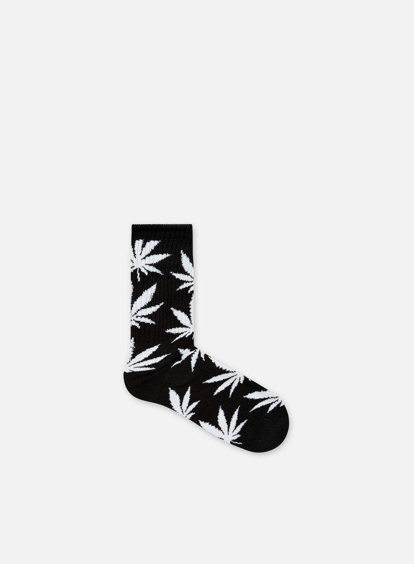 Huf - Plantlife Crew Socks, Black/White