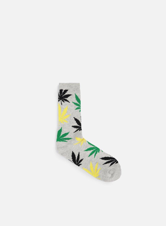 Huf - Plantlife Crew Socks, Jamaica