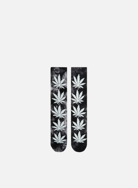 accessori huf plantlife tie dye crew socks black