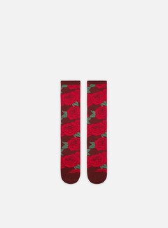 Huf - Rosette Socks, Red