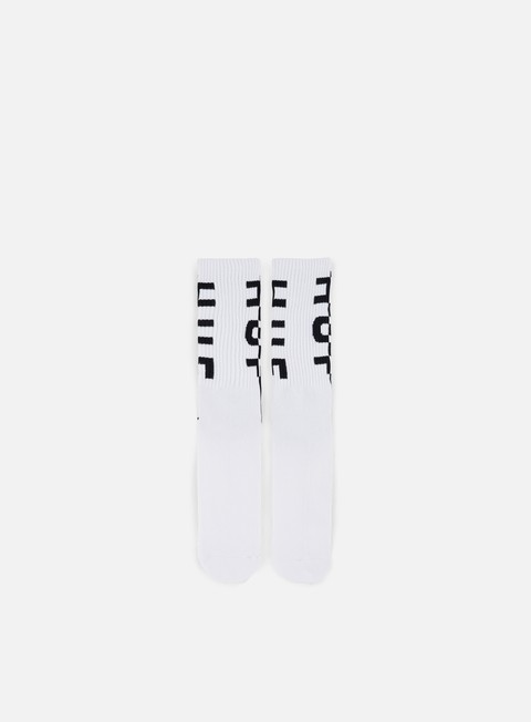 accessori huf split crew sock white