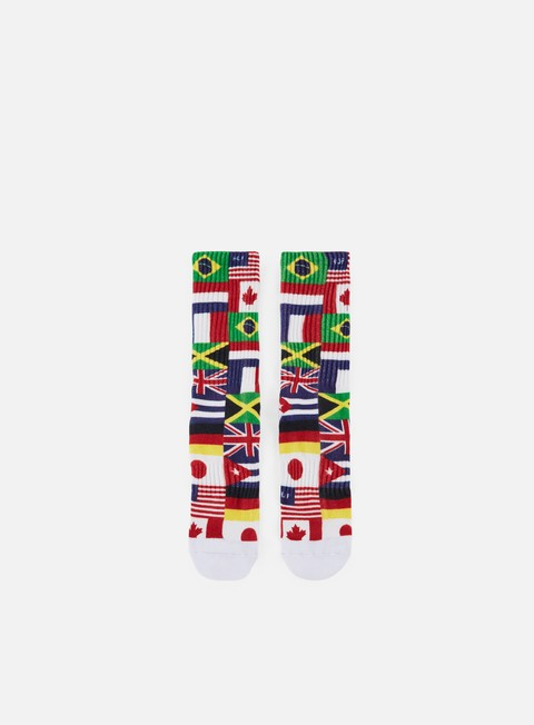 accessori huf stadium united socks white