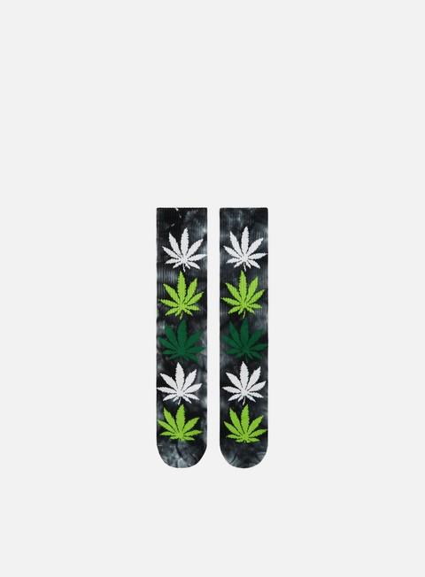 accessori huf strain plantlife crew socks babba kush