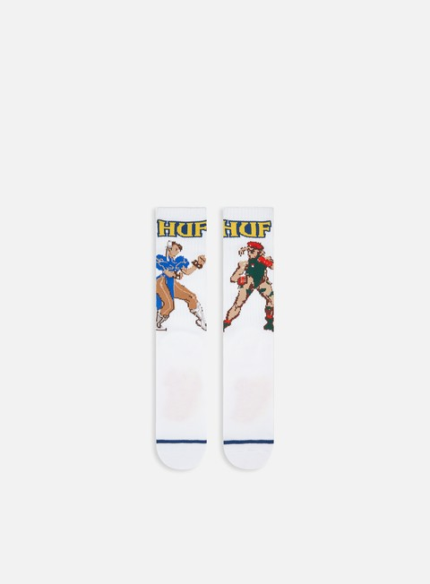 Socks Huf Street Fighter II Chun-Li & Cammy Socks