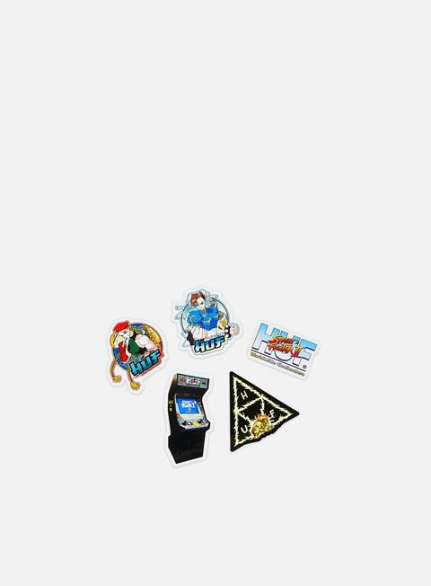 Accessori Vari Huf Street Fighter II Sticker Set