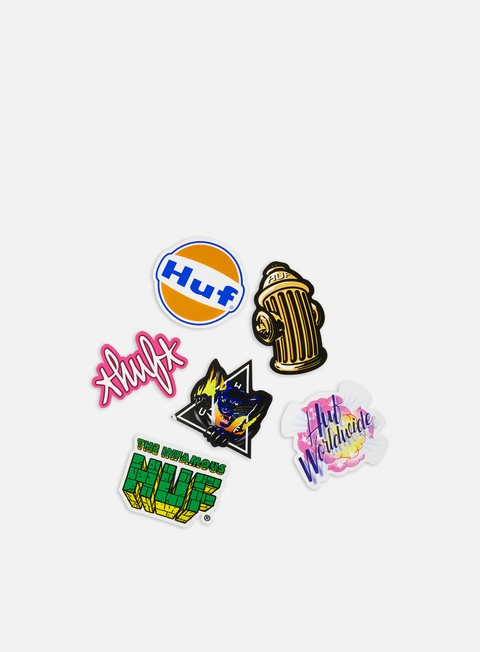 Various Accessories Huf SU20 Sticker Set