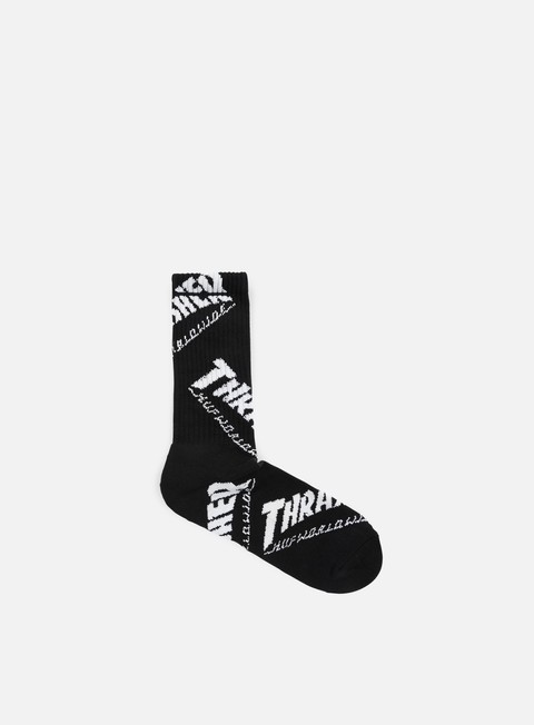 accessori huf thrasher tds crew socks black