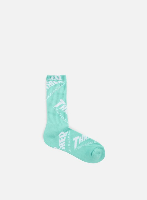 accessori huf thrasher tds crew socks mint
