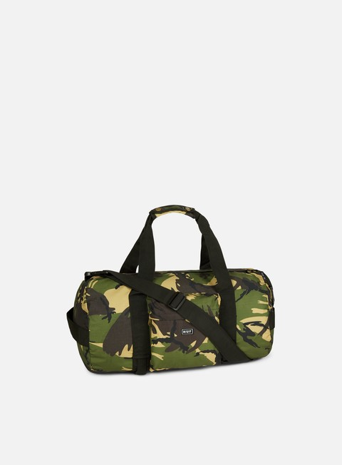 accessori huf tompkins duffle bag deep olive