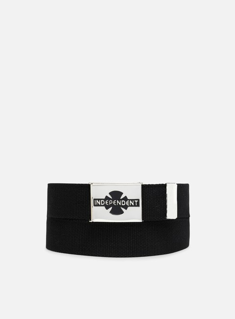 accessori independent clipped belt black