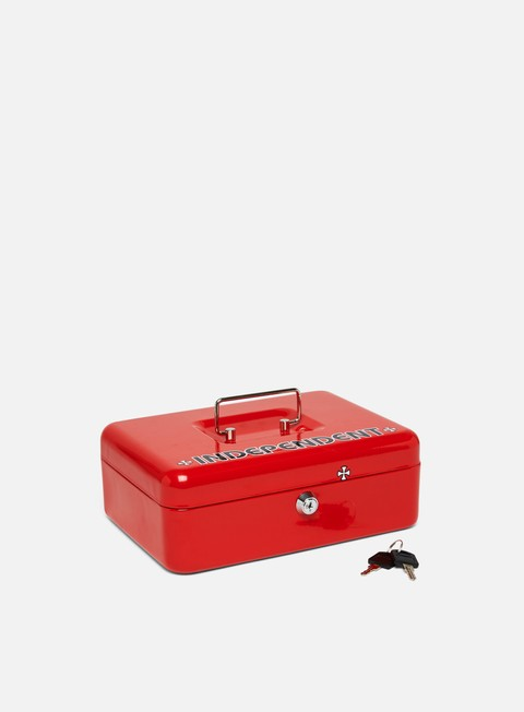 accessori independent vault lock box red