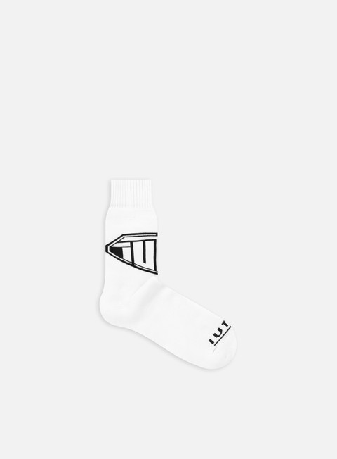 accessori iuter logo socks white