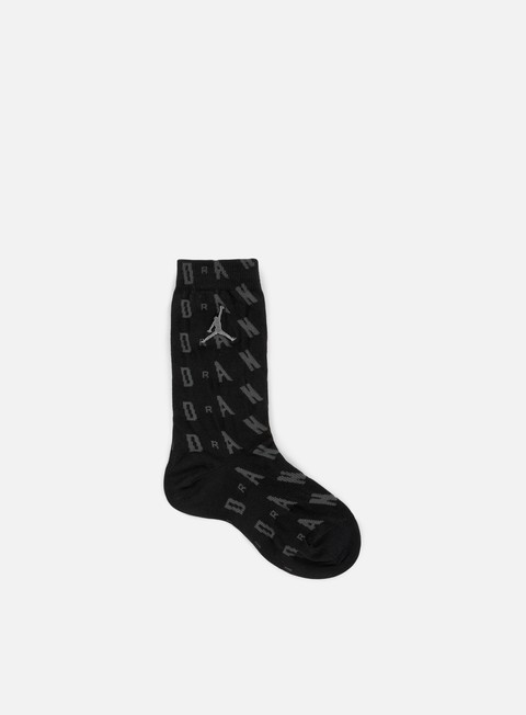 accessori jordan air jordan 6 socks black