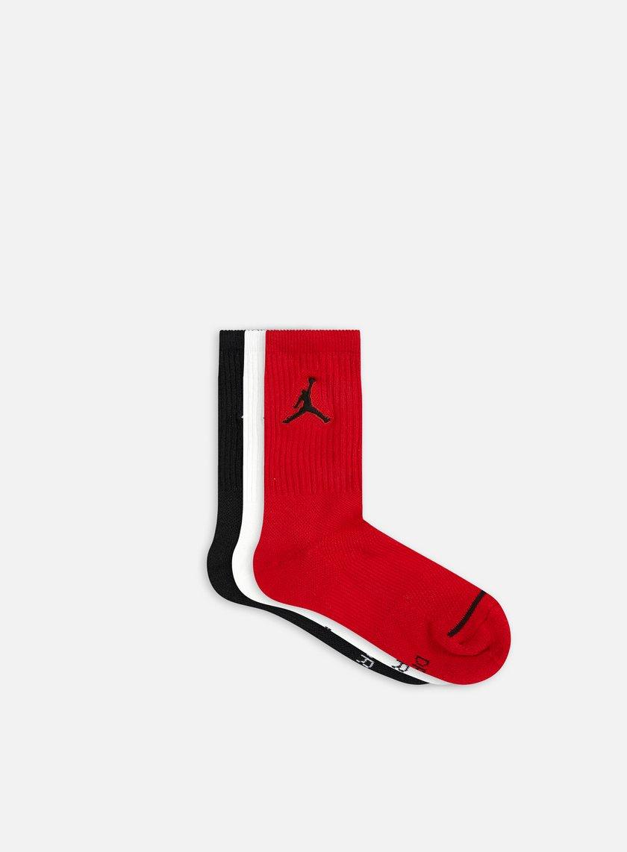 Jordan - Jumpman 3 Pack Crew Socks, Assorted