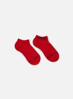 Jordan - Jumpman 3 Pack No-Show Socks, Black/White/Red 3