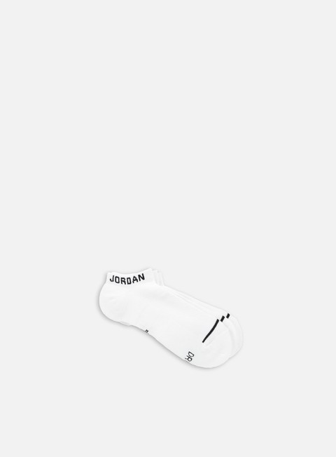 accessori jordan jumpman 3 pack no show socks white black