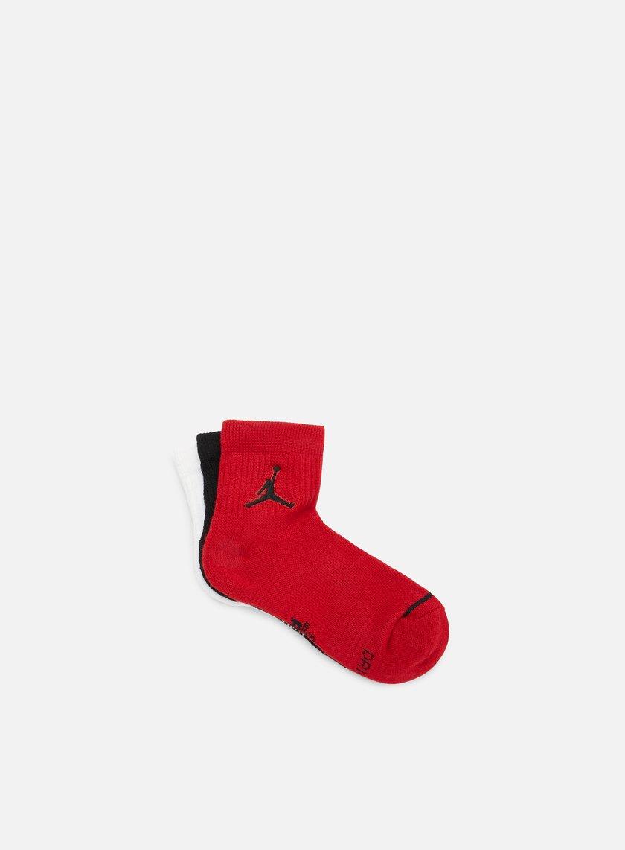 Jordan Jumpman 3 Pack Quarter Socks
