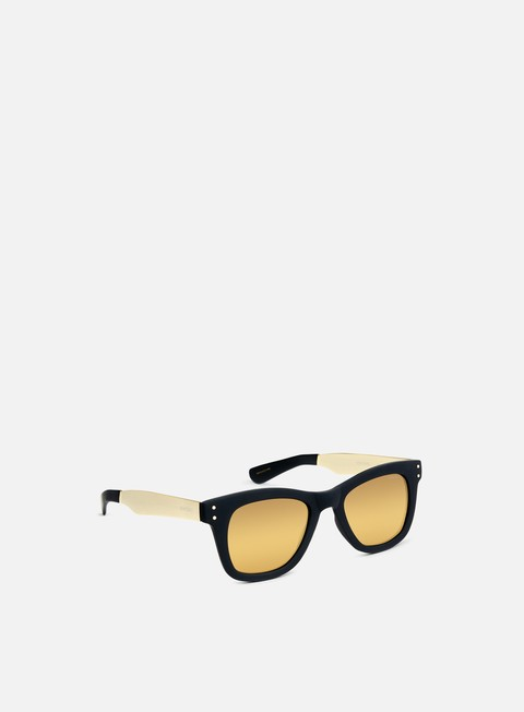 accessori komono allen metal sunglasses black gold