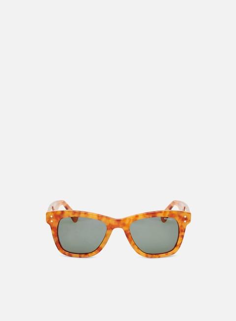 accessori komono allen sunglasses caramel demi