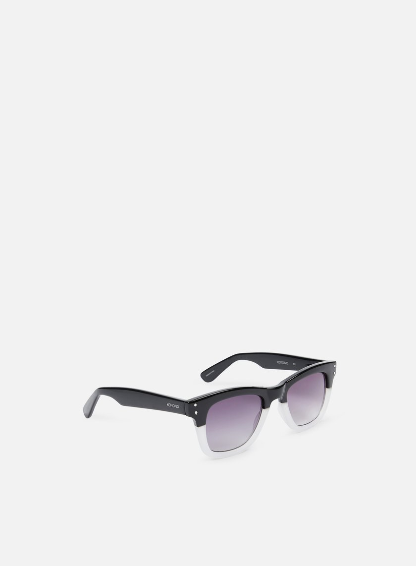 Komono - Allen Sunglasses, Matte Black Transparent