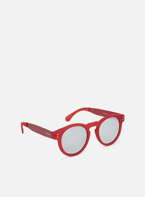 accessori komono clement sunglasses red