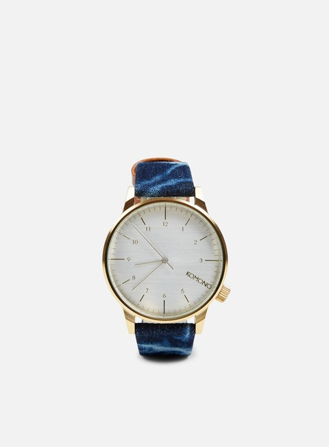 Watches Komono Winston Heritage Denim