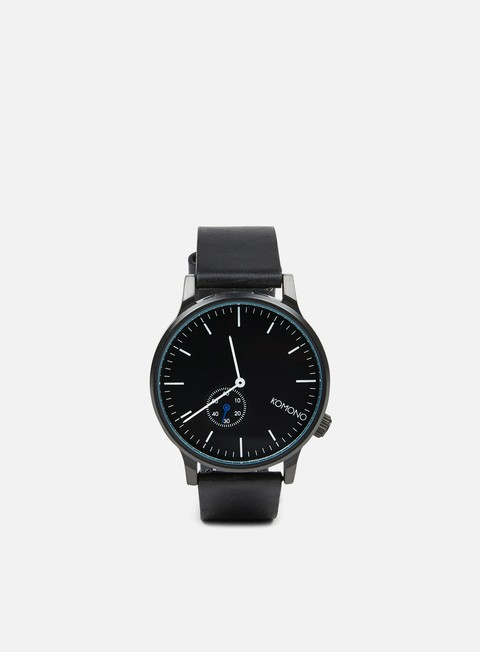 accessori komono winston subs watches black