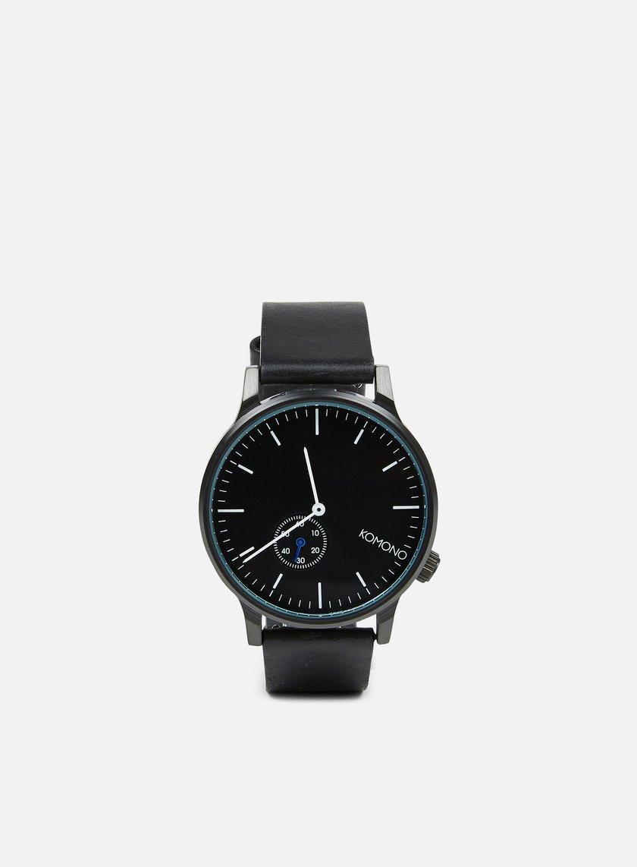 Komono - Winston Subs Watches, Black