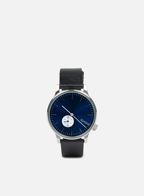 accessori komono winston subs watches silver blue