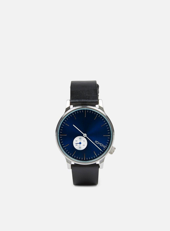 Komono - Winston Subs Watches, Silver Blue