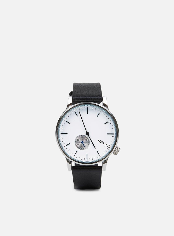 Komono - Winston Subs Watches, Silver White