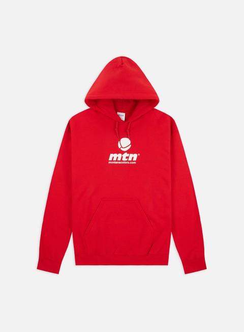 Abbigliamento Montana Basic Front Logo Hoodie