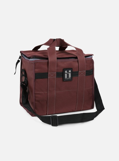 accessori mr serious 12 pack shoulder bag maroon