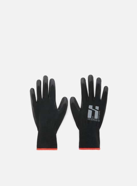 accessori mr serious coated gloves