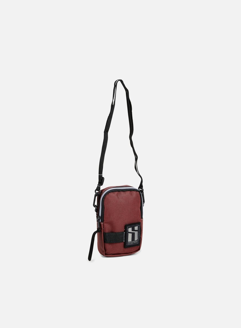 Mr Serious - Document Pouch, Maroon