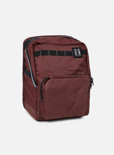 accessori mr serious metro backpack maroon