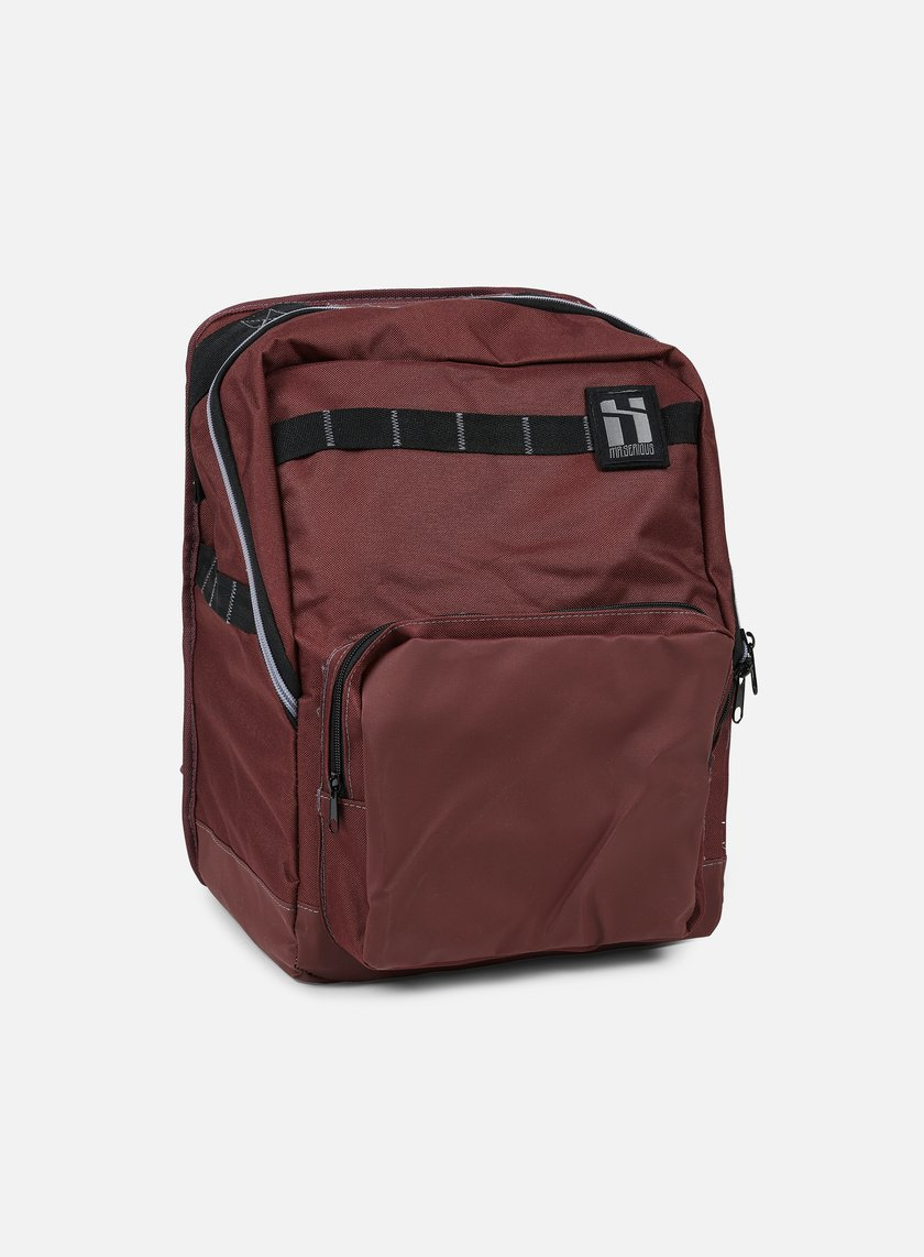 Mr Serious - Metro Backpack, Maroon