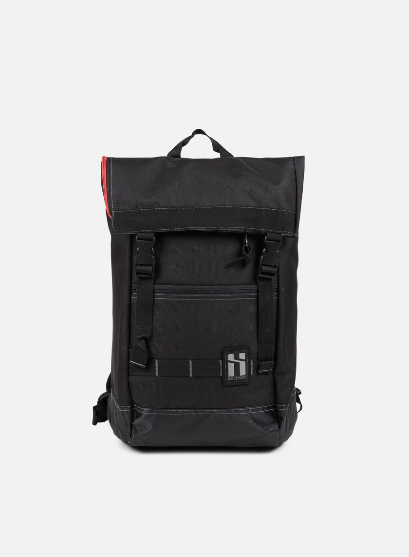 Mr Serious - To Go Backpack, Black