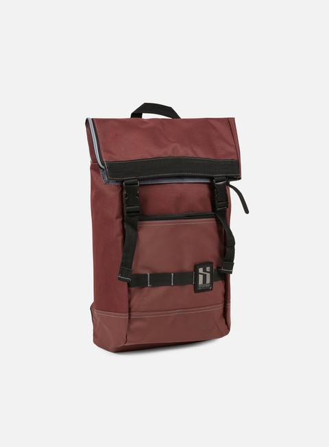 accessori mr serious to go backpack maroon