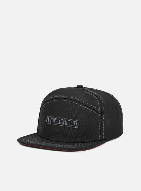 accessori mr serious unknown camp cap black