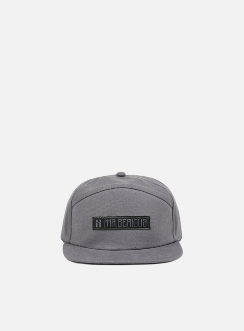 accessori mr serious unknown camp cap grey