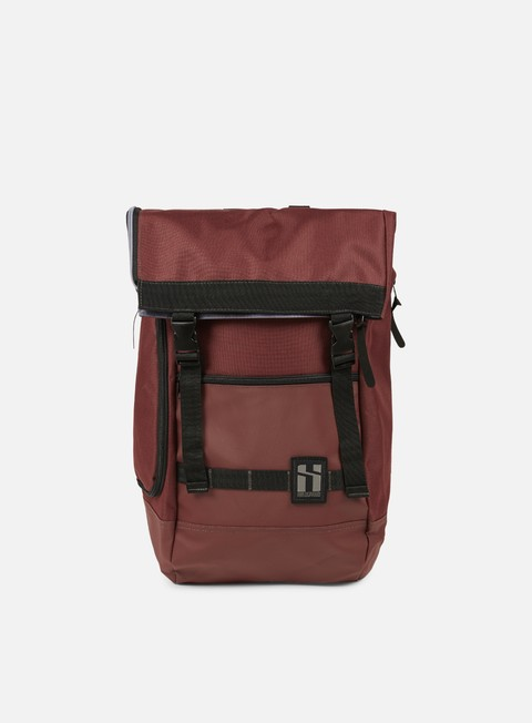 accessori mr serious wanderer backpack maroon