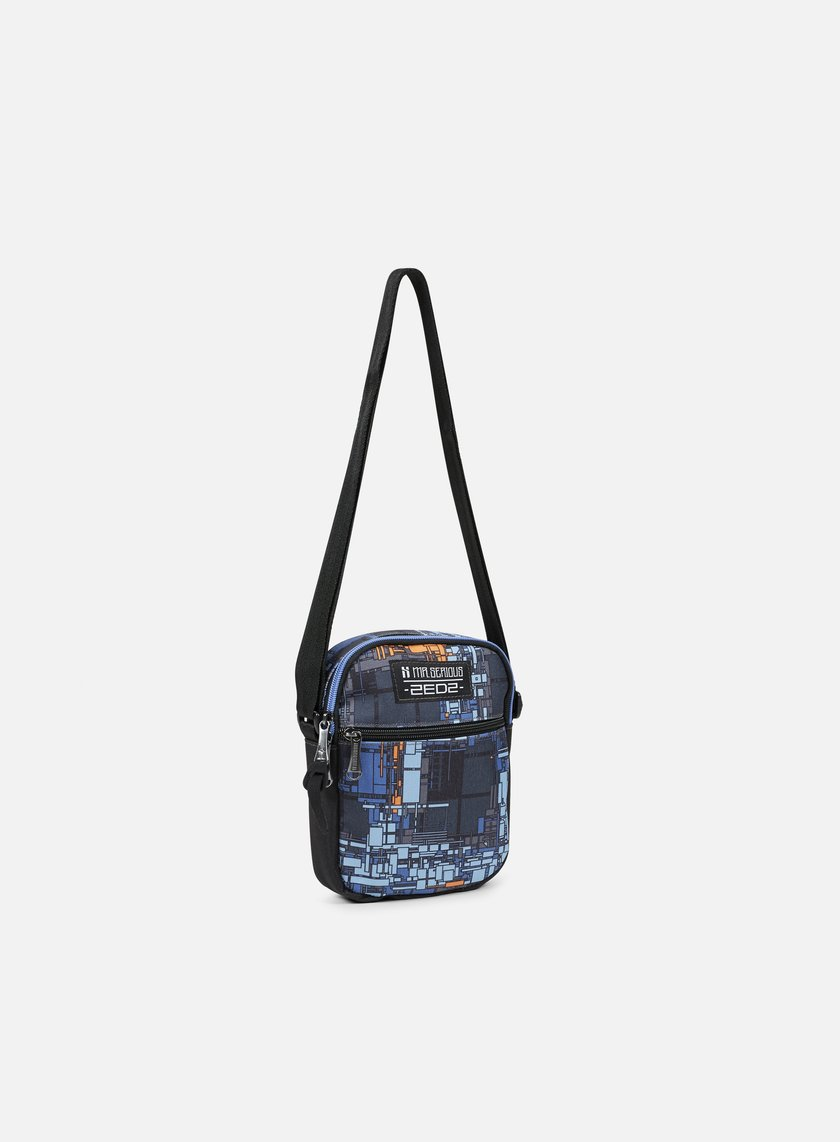 Mr Serious - Zedz Platform Pouch, Dutch Blue