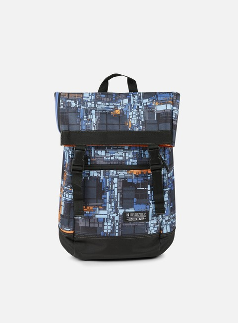 accessori mr serious zedz to go backpack dutch blue