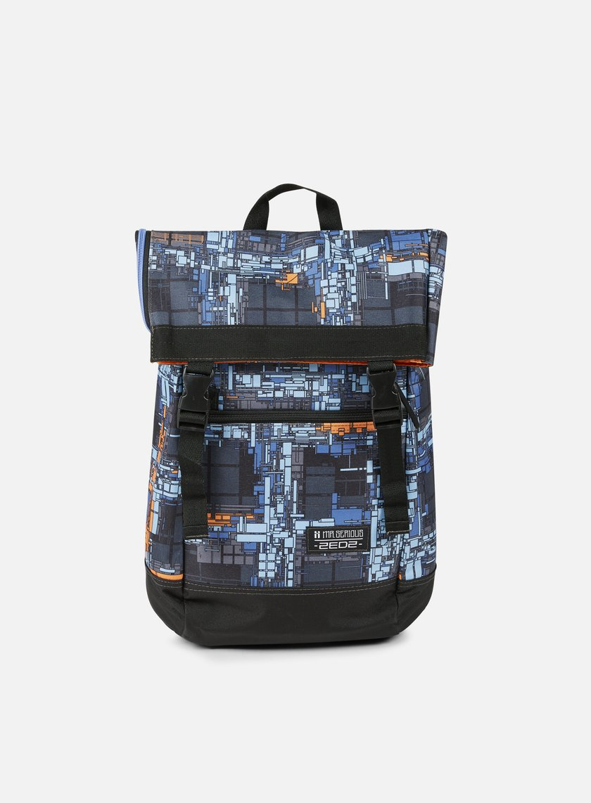 Mr Serious - Zedz To Go Backpack, Dutch Blue