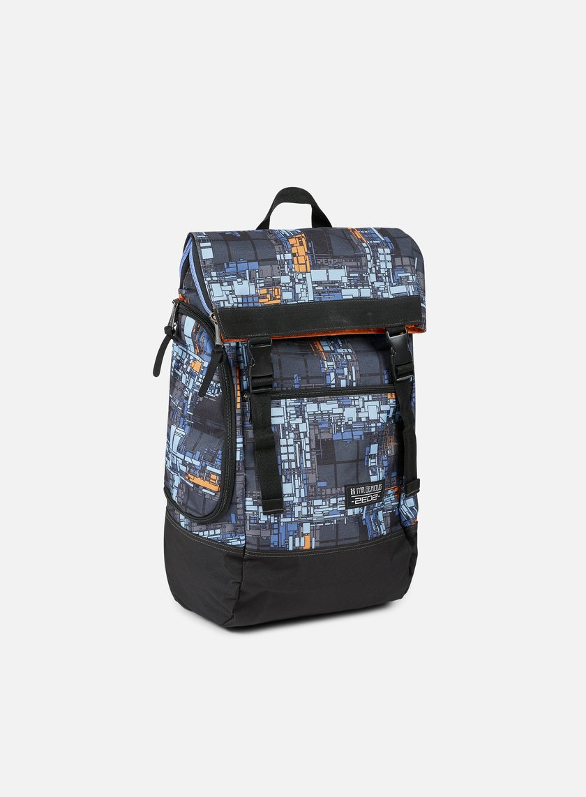 Mr Serious - Zedz Wanderer Backpack, Dutch Blue