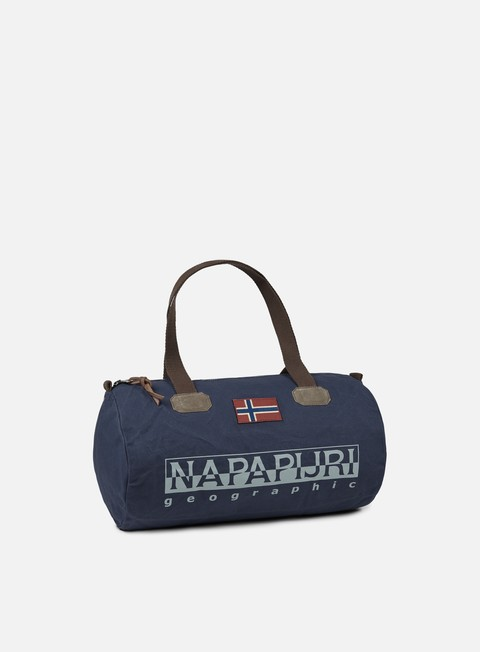 accessori napapijri bering 1 small duffle bag blue marine