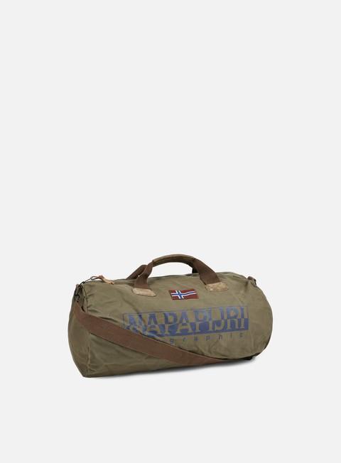 accessori napapijri bering a duffle bag grey olive