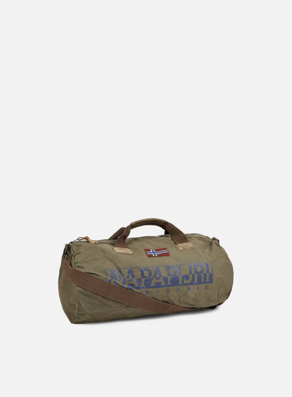 Napapijri - Bering A Duffle Bag, Grey Olive