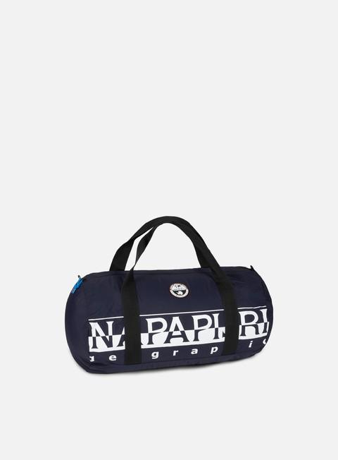 accessori napapijri bering pack 48lt blu marine